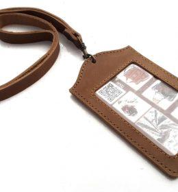 Tempat id card kulit