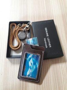 bikin id card kulit