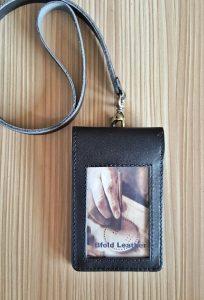 bikin id card kulit magnet