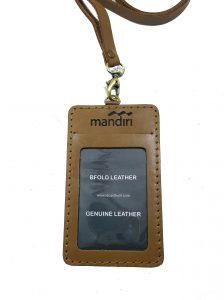 name tag bank mandiri