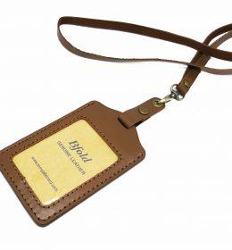 jual name tag kulit